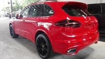 2015 PORSCHE CAYENNE 3.0 GTS RED PANAROMIC ROOF POWER BOOT GST INCLUDE