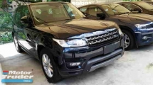 2014 LAND ROVER RANGE ROVER SPORT 3.0(A) SPORT SE SPEC LOCAL AP UNREG