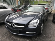 2013 MERCEDES-BENZ SLK 200 AVANTGARDE UNREG INCLUSIVE GST
