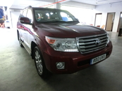2013 TOYOTA LAND CRUISER 4.5 Diesel Twin Turbo Full Spec Unreg