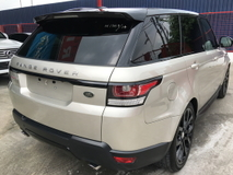 2014 LAND ROVER RANGE ROVER SPORT 5.0 HSE DYNAMIC (A) UNREGISTERED