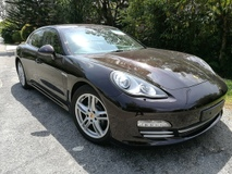 2013 PORSCHE PANAMERA 4 3.6 A 2013  PLATINUM EDITION UK SPEC UNREG