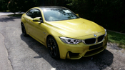 2014 BMW M COUPE M4 3.0 M-SPORT TWIN POWER TURBO UK SPEC UNREG