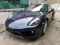 2013 PORSCHE CAYMAN 2.7 PDK Japan Unreg