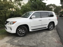 2014 LEXUS LX570 5.7 UK SPEC UNREG