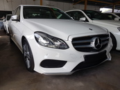 2013 MERCEDES-BENZ E-CLASS 2.0 AMG UK SPEC 2MEMORY SEATS