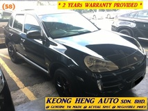 2007 PORSCHE CAYENNE V6 3.6 FACELIFT SUV (ACTUAL YR MADE 2007)(GST INCLU)(3.6 FACELIFT)(REG 2010)(1 OWNER)(TIP TOP)