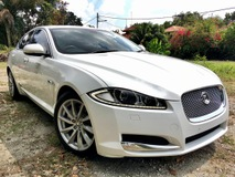 2012 JAGUAR XF 3.0 LUXURY U.K. SPEC (A) UNREG