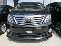 2012 TOYOTA ALPHARD 2.4 SC EDITION SUNROOF MOONROOF POWER BOOT 2 POWER DOOR REVERSE CAMERA 4 ELECTRIC SEATS 7 SEATER PILOT ALCATARA SEATS 18 RIM ECO MODE SYSTEM ADJUSTABLE SIDE MIRROR CLIMATE AIRCOND CONTROL MULTI FUNCTION STEERING 1 YEAR GMR WARRANTY LOCAL AP BLUETOOTH DVD