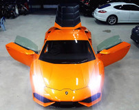2014 LAMBORGHINI HURACAN 2014 LAMBORGHINI HURACAN LP6104 V10 5.2 UNREG ORANGE COLOR ( 1123 ) x SELLING PRICE RM 1465000.00
