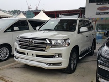 2016 TOYOTA LAND CRUISER 4.6 ZX Demo Unit Unreg