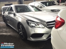 2013 MERCEDES-BENZ E-CLASS E200 FACELIFT AMG O SST.PADDLE SHIFT.LED DAYLIGHT.ORI AMG BODYKIT.TRUE 13 UNREG.FREE GIF