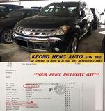 2005 NISSAN MURANO 2.5 L CVT (ACTUAL YR MADE 2005)(GST INCLU)(CBU IMPORT BARU)(TIPTOP)(1 OWNER)(LOW MILE)(SUNROOF)