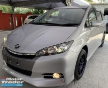 2015 TOYOTA WISH 2015 TOYOTA WISH 1.8 MONOTONE FULL SPEC CAR SELLING PRICE ONLY ( RM 165000.00 NEGO ) SILVER COLOR