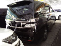 2013 TOYOTA VELLFIRE 2.4 Golden Eye Power boot Rear monitor Unregistered