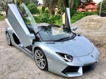 2014 LAMBORGHINI AVENTADOR ROADSTER LP700.4 6.5 (A) UNREGISTERED