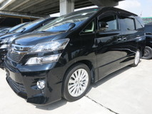 2015 TOYOTA VELLFIRE 2.4ZG EDITION SUNROOF 4 CAMERA 2 POWER DOOR POWER BOOT 4 ELECTRIC PILOT SEATS 2 MONITOR WITH DVD PLAYER BLUETOOTH MEMORY SEATS BI XENON HEADLAMPS 18 RIM ADJUSTABLE SIDE MIRROR CLIMATE AIRCOND CONTROL PUSH START BUTTON KEYLESS SMART ENTRY FREE 1 YEAR GMR