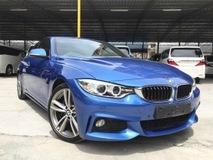 2014 BMW 4 SERIES 420i M SPORT COUPE 2.0 Turbo FULL BLACK INTERIOR