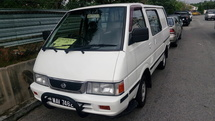 2002 NISSAN C22 1.5 SEMI PANEL VAN