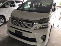 2013 TOYOTA VELLFIRE 2.4Z PLATINUM SELECTION II TYPE GOLD