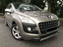2010 PEUGEOT 3008 1.6 TURBO PANAROMIC ROOF