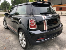 2012 MINI Cooper S 1.6 TURBO IDRIVE (A) UNREGISTERED