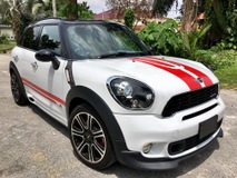 2013 MINI Countryman S 1.6 TURBO JCW  ALL4 (M) UNREGISTERED