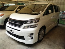 2012 TOYOTA VELLFIRE 2.4 Z Spec Coolbox Unregistered