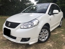 2009 SUZUKI SX4 SE 1.6 ONE OWNER FULL BODYKIT EXCELLENT INTERIOR NEW TYRE AND SPORT RIMS FULL LOAN