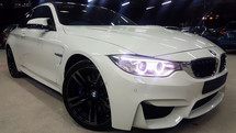 2015 BMW M COUPE  M4 MSPORT 3.0A (COUPE) TWIN POWER TURBO UK SPEC UNREG SELLING PRICE WITH GST RM 493000.00 ( NEGO ) WHILE COLOR ( 1518 )