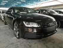 2013 AUDI A7 A7 Sline black edition TFSI