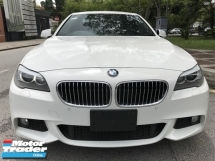 2012 BMW 5 SERIES 2.0 M SPORT UNREG WHISPERS WHITE JPN