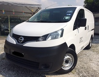 2014 NISSAN NV200 TIP TOP CONDITION