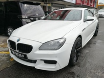 2012 BMW 6 SERIES 640i Grand Coupe M Sport Low Mileage Register 2014