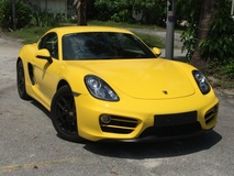 2014 PORSCHE CAYMAN 2.7 Litre ( Limited Color)