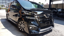 2015 TOYOTA VELLFIRE EL EXECUTIVE LOUNGE 3.5L FULL SPEC (UNREG) 2015