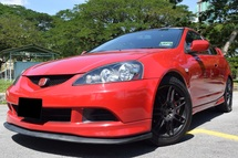 2005 HONDA INTEGRA 2.0 (A) TYPE S TYPE R TIPTOP CAFEFUL OWNER LOW MILEAGE