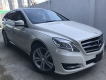 2013 MERCEDES-BENZ R-CLASS R350 4MATIC FULL SPEC JAPAN UNREG