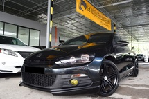 2009 VOLKSWAGEN SCIROCCO 2.0 (A) IMPORT CBU SPORT PAD SHIFT LOW MILEAGE ONE CAREFUL OWNER WEEKEND CAR