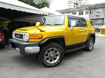 2011 TOYOTA FJ CRUISER 4.0 COLOUR PACKAGE