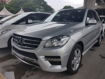 2012 MERCEDES-BENZ ML-CLASS 220 DIESEL AMG SPEC PB UNREG