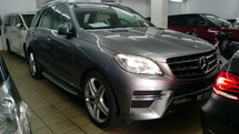 2014 MERCEDES-BENZ ML 350 TRUE YEAR MADE 2014 NO SST New FACELIFT Mileage 29k km only Warranty to 2019