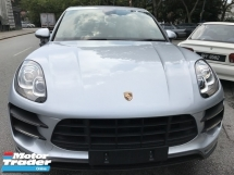 2014 PORSCHE MACAN 3.6 TURBO UNREG BOASTFUL SILVER UK