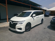 2015 NISSAN ELGRAND 250HIGHWAY STAR BLACK LEATHER URBAN SELECTION