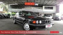 1987 BMW 7 SERIES 730I 3.0 (A) TAHUN DIBUAT 1987