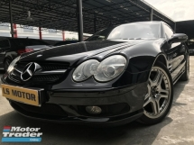 2003 MERCEDES-BENZ SL  R230 SL55 5.5 V8 ORI AMG SPEC CABRIOLET 31KKM ONLY,PERFECT CONDITION,VIEW TO BELIEVE,1VVIP OWNER,SELDOM USE,FULL SERVICE RECORD...PRICE NEGO