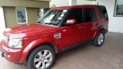 2013 LAND ROVER DISCOVERY 4 Multifunction steering