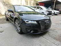 2013 AUDI A7 3.0 Petrol Supercharge Quattro Unreg Power Boot Bose 4 Zone Climate Pre Crash No GST