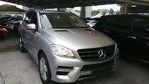 2012 MERCEDES-BENZ ML 250 2.2 AMG LOCAL AP UNREG GST INCLUDED