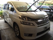 2013 TOYOTA VELLFIRE 2.4 V Electric Seats Unregistered